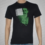 Limbeck Green In The Face Black T-Shirt