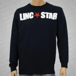 official Linc Star Records Logo Black Long Sleeve Shirt