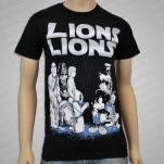 Lions Lions VS Black T-Shirt