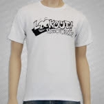 Lookout Records Logo White T-Shirt