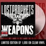 official Lostprophets Weapons Clear Vinyl LP