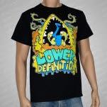 Lower Definition Cartoon Black T-Shirt