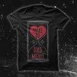 Make Do  Mend Hour Love Black T-Shirt
