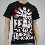 Make Me Famous Lose Your Fear Black T-Shirt