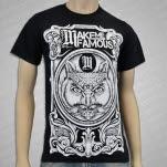 Make Me Famous Owl Black T-Shirt