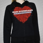 Man Overboard Boys Like You Black Girls Zip Up