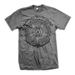 Man Overboard Crest Charcoal T-Shirt
