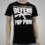 Man Overboard Defend Pop Punk Black T-Shirt