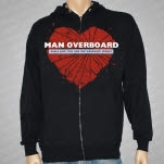 Man Overboard Girls Like You Black Hoodie Zip