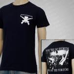 Man Overboard RARE NAVY T-Shirt