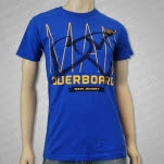 Man Overboard Tracks Royal Blue T-Shirt
