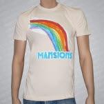 Mansions Rainbow Natural T-Shirt