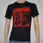 Marginal Man Red On Black T-Shirt