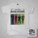 Masked Intruder News White T-Shirt