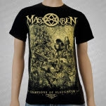 Massakren Champions of Slaughter Black T-Shirt