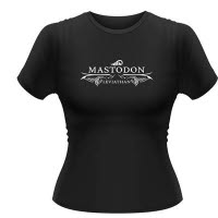 Mastodon Leviathan Logo Girlie T-Shirt