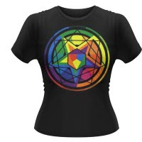 Mastodon Colour Theory Girlie T-Shirt