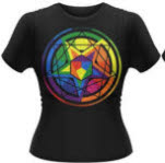 Mastodon Colour Theory Girlie T-Shirt