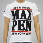 Maximum Penalty 86 White T-Shirt