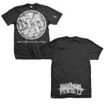 Maximum Penalty Circle Logo Black T-Shirt