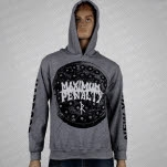 Maximum Penalty Manhole Heather Gray Pullover