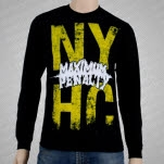 Maximum Penalty NYHC Black Long Sleeve Shirt