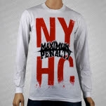 Maximum Penalty NYHC White Long Sleeve Shirt