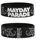 Mayday Parade Logo Silicon Wrist Band