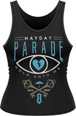 Mayday Parade Hold On To Me Ladies Tank Vest