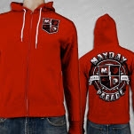 Mayday Parade Academy Red Hoodie Zip