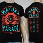 Mayday Parade All I Do Black T-Shirt