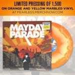Mayday Parade A Lesson In Romantics Yellow Vinyl LP