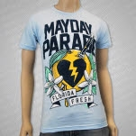 Mayday Parade Florida Fresh Light Blue T-Shirt