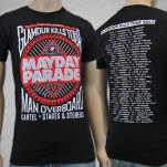 Mayday Parade Glamour Kills 2013 Tour T-Shirt