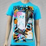 Mayday Parade Gossip Aqua T-Shirt