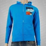 Mayday Parade House Monsters Blue Hoodie Zip