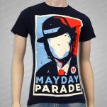 Mayday Parade Hope Navy T-Shirt