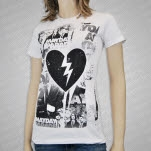 Mayday Parade Heart Photo Girls T-Shirt