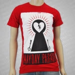 Mayday Parade Keys to a Broken Heart Red T-Shirt