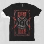 Mayday Parade Lightning Mic Black T-Shirt