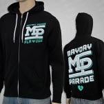Mayday Parade MD Black Hoodie Zip