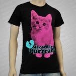 Mayday Parade Meowday Purrrade Black T-Shirt