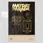 Mayday Parade Monsters In The Closet 11x17 Promo Poster
