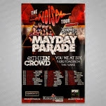 Mayday Parade The Noise Tour Poster