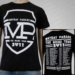 Mayday Parade Noise Tour Black T-Shirt