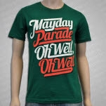 Mayday Parade Oh Well Oh Well Green T-Shirt