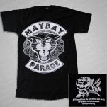 Mayday Parade Panther Black T-Shirt