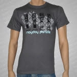 Mayday Parade Phones Gray T-Shirt