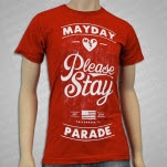 Mayday Parade Please Stay Red T-Shirt