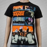 Mayday Parade Safe In My Arms Black T-Shirt